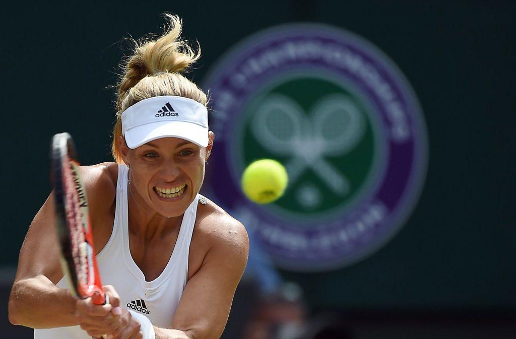 Vorjahresfinalistin Angelique Kerber ist beim Turnier in Wimbledon wieder am Start. Foto: EPA