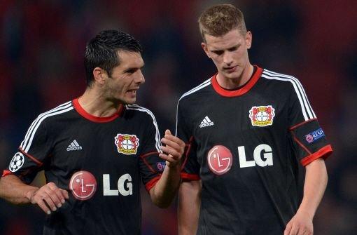 Leverkusen verliert bei ManU 2:4