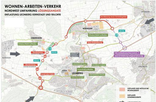 Eine Umgehungsstraße rund um Höfingen?