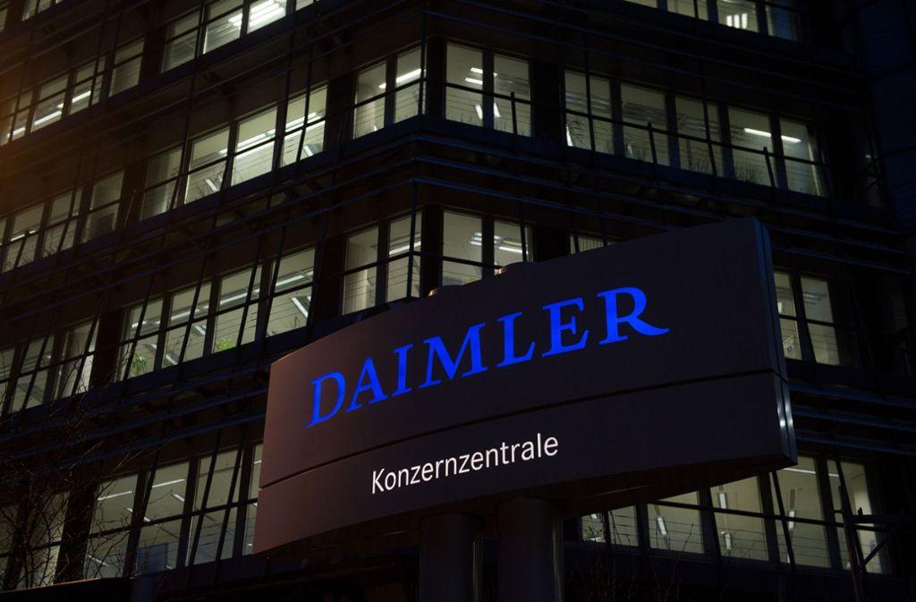 Umstritten: die Betriebsratswahl in der Daimler-Zentrale Foto: dpa