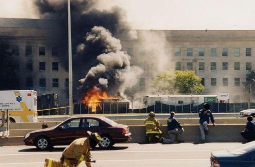 FBI veröffentlicht geheime Bilder vom Pentagon-Anschlag