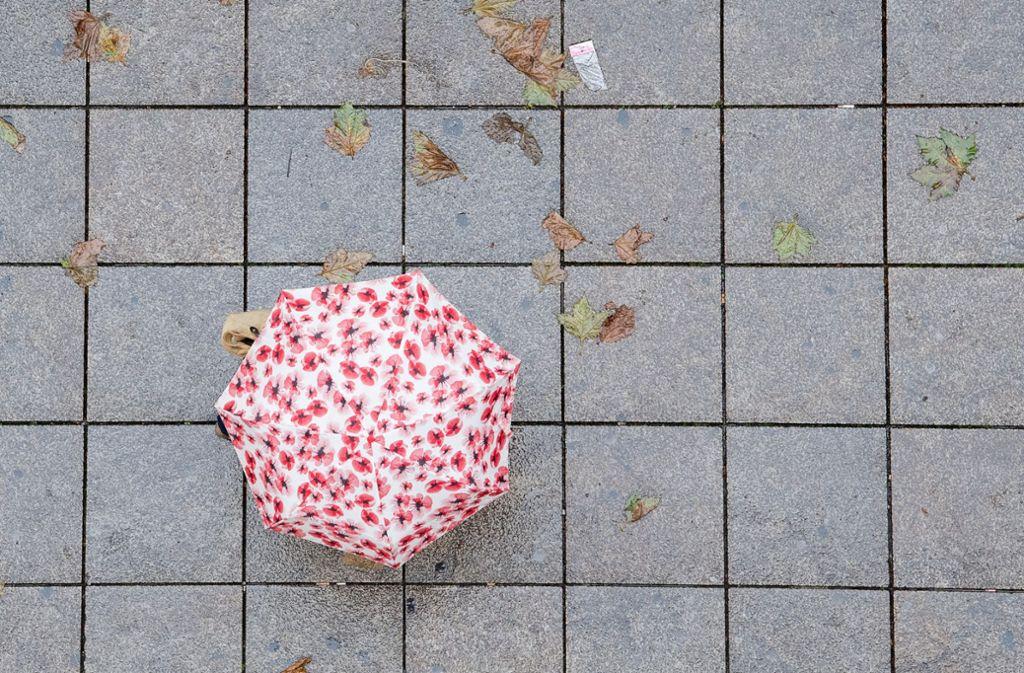 Der Herbst kündigt sich ab kommender Woche auch in Stuttgart an. Foto: dpa