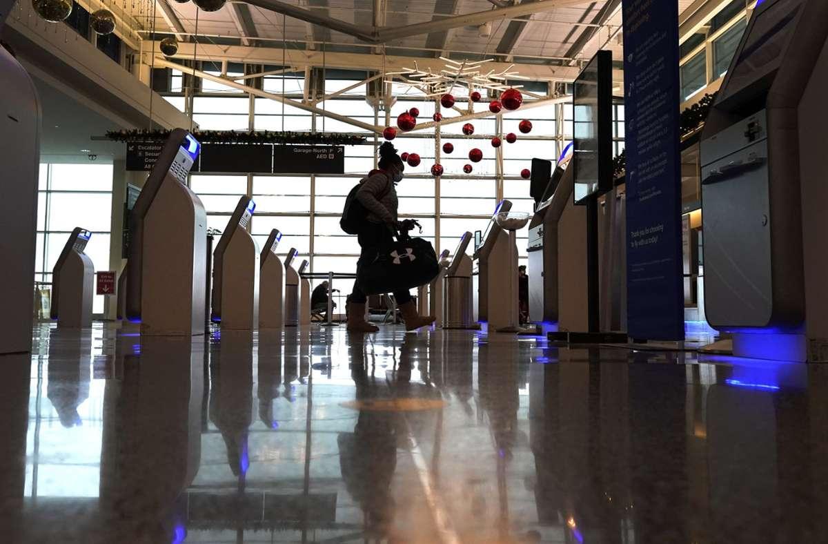 Dürfen bald nur noch Geimpfte in die USA einreisen (Symbolbild). Foto: dpa/Charles Rex Arbogast