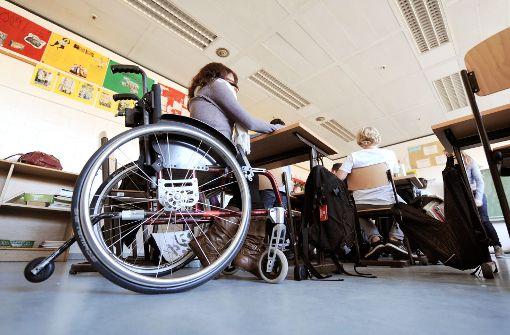 Nicht alle Schulen sind für Rollstuhlfahrer zugänglich. Foto: dpa