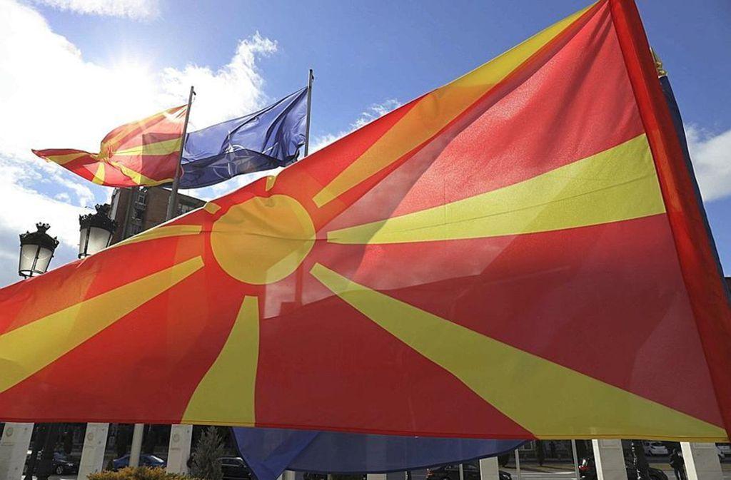 Seit Februar heißt das Land  Nordmazedonien – die EU-Kommission  will die Beilegung des jahrelangen Namensstreites mit Athen belohnen und empfiehlt   Beitrittsverhandlungen. Foto: dpa/Dragan Perkovksi