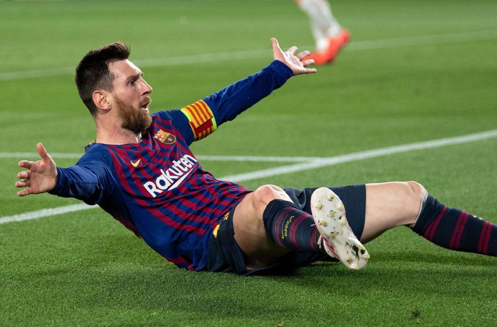 Messi stellt Barcelona mal wieder auf den Kopf. Foto: Getty Images