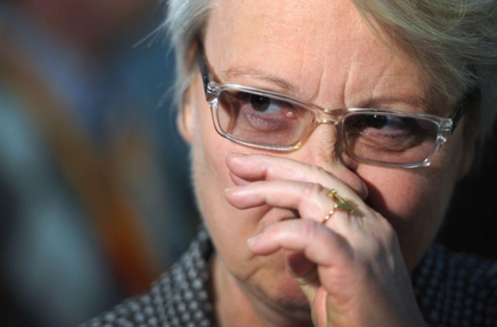 Die Uni Düsseldorf entzieht der Bundesbildungsministerin den Doktortitel Foto: dpa