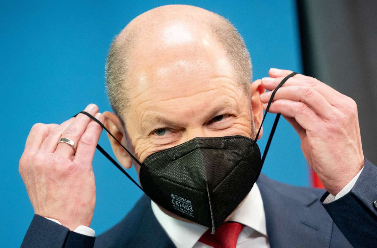 Finanzminister Olaf Scholz. (Archivbild) Foto: dpa/Kay Nietfeld
