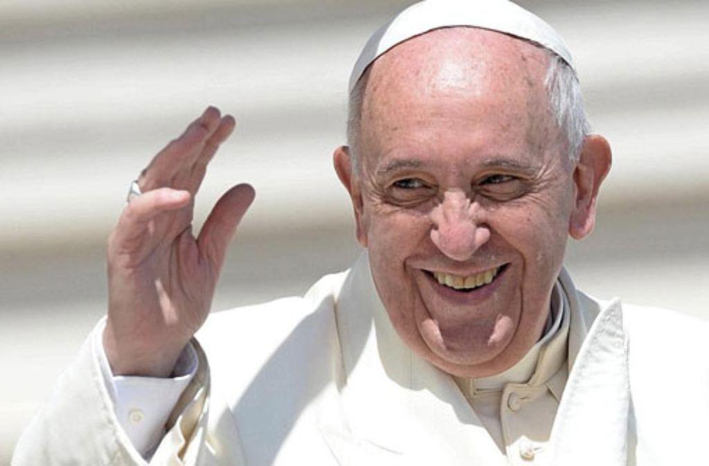 Papst Franziskus hat einen pikanten Brief erhalten. Foto: dpa