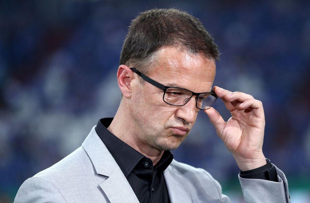 Eintracht-Sportchef Fredi Bobic denkt nicht daran, im Streit mit den Bayern klein beizugeben. Foto: Getty