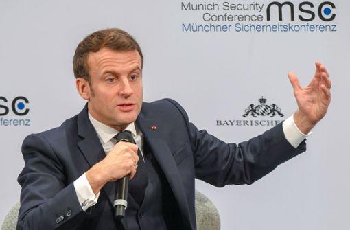 Macron will mehr Europa – aber nicht gegen die Nato