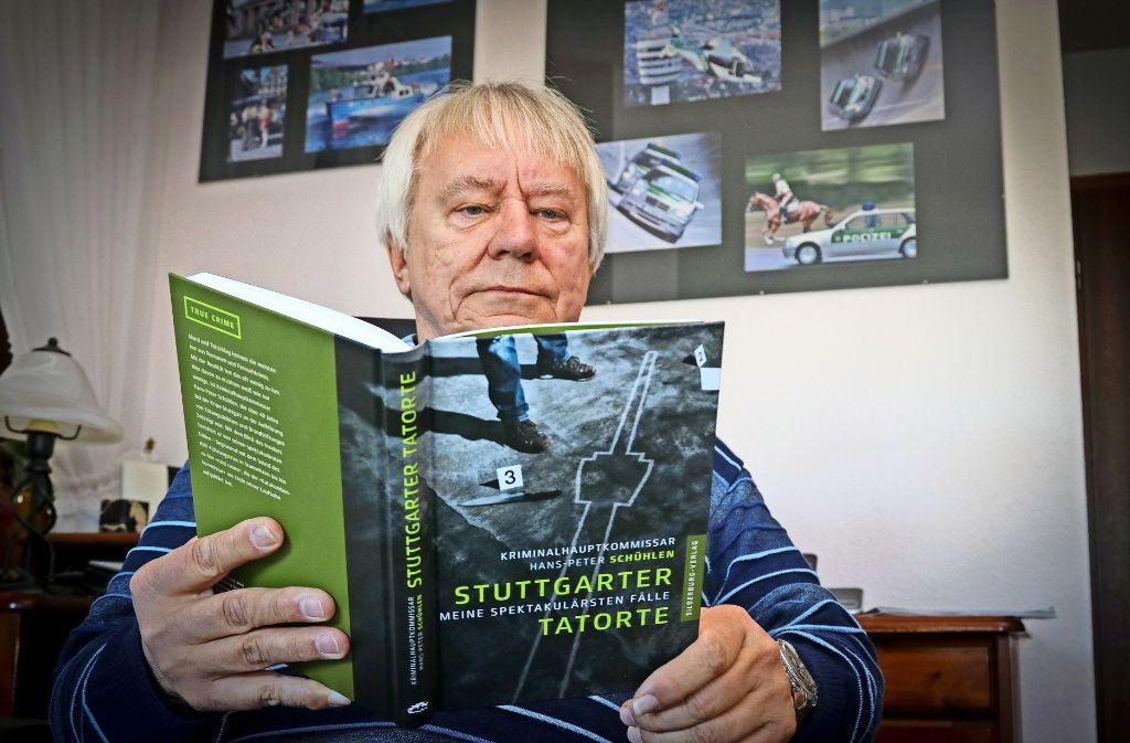 Sein Buch ist für Hans-Peter Schühlen auch eine Art des Verarbeitens. Foto: factum/Granville