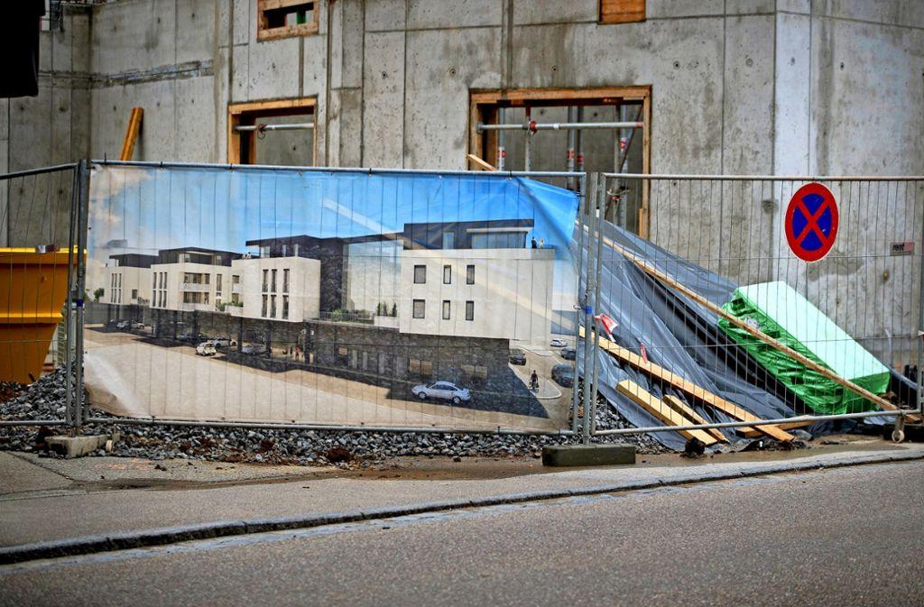 Die Wohnungen, die in der neuen Mitte in Schwaikheim entstehen sollen, gehören nun einem Investor. Foto: