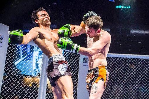 MMA-Käfig-Kämpfe im LKA Longhorn