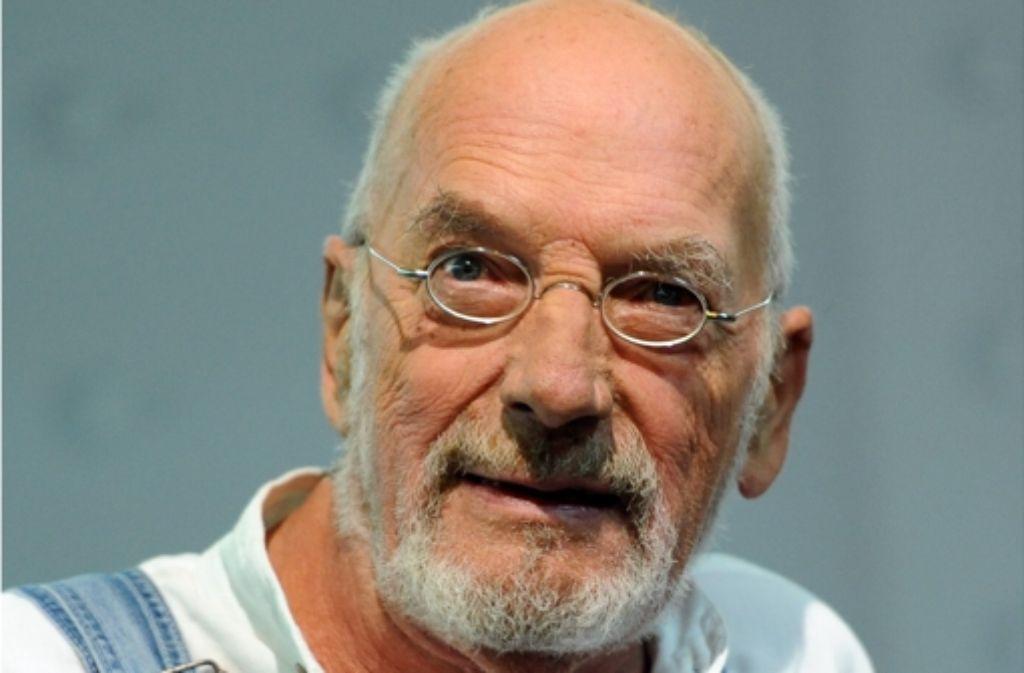 Peter Lustig erklärte Kindern als Löwenzahn-Moderator die Welt. Foto: dpa