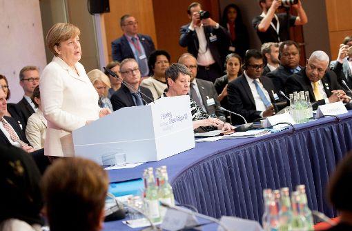 "Merkel erinnert USA: Sind beim Klimaschutz ""Schicksalsgemeinschaft"""