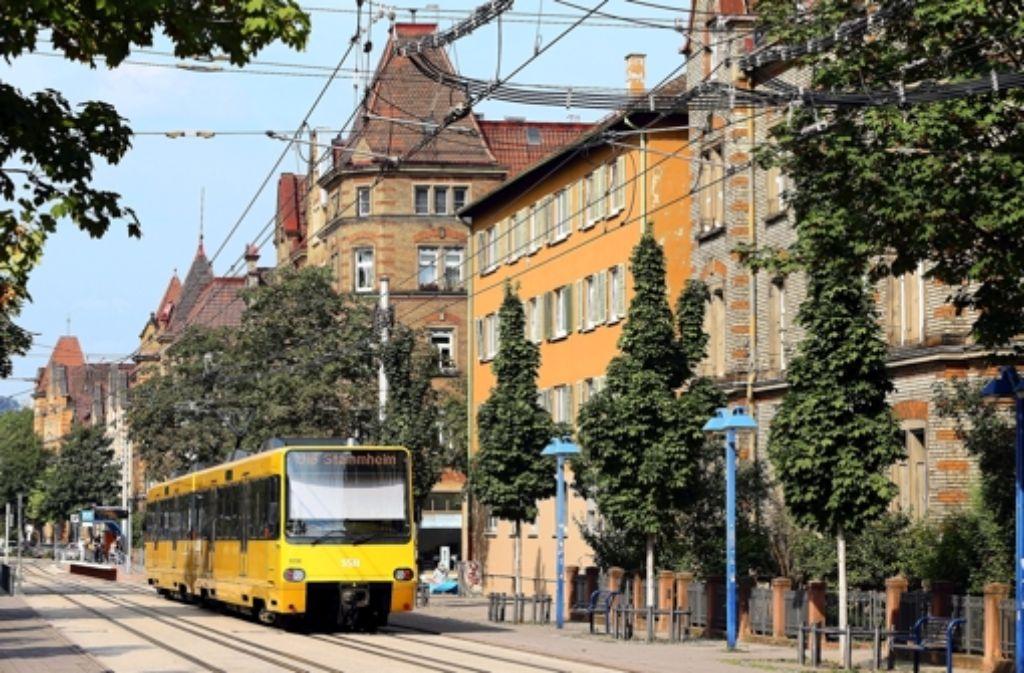 Nun fährt die U15 nicht mehr im Nordbahnhofviertel. Foto: Archiv Achim Zweygarth