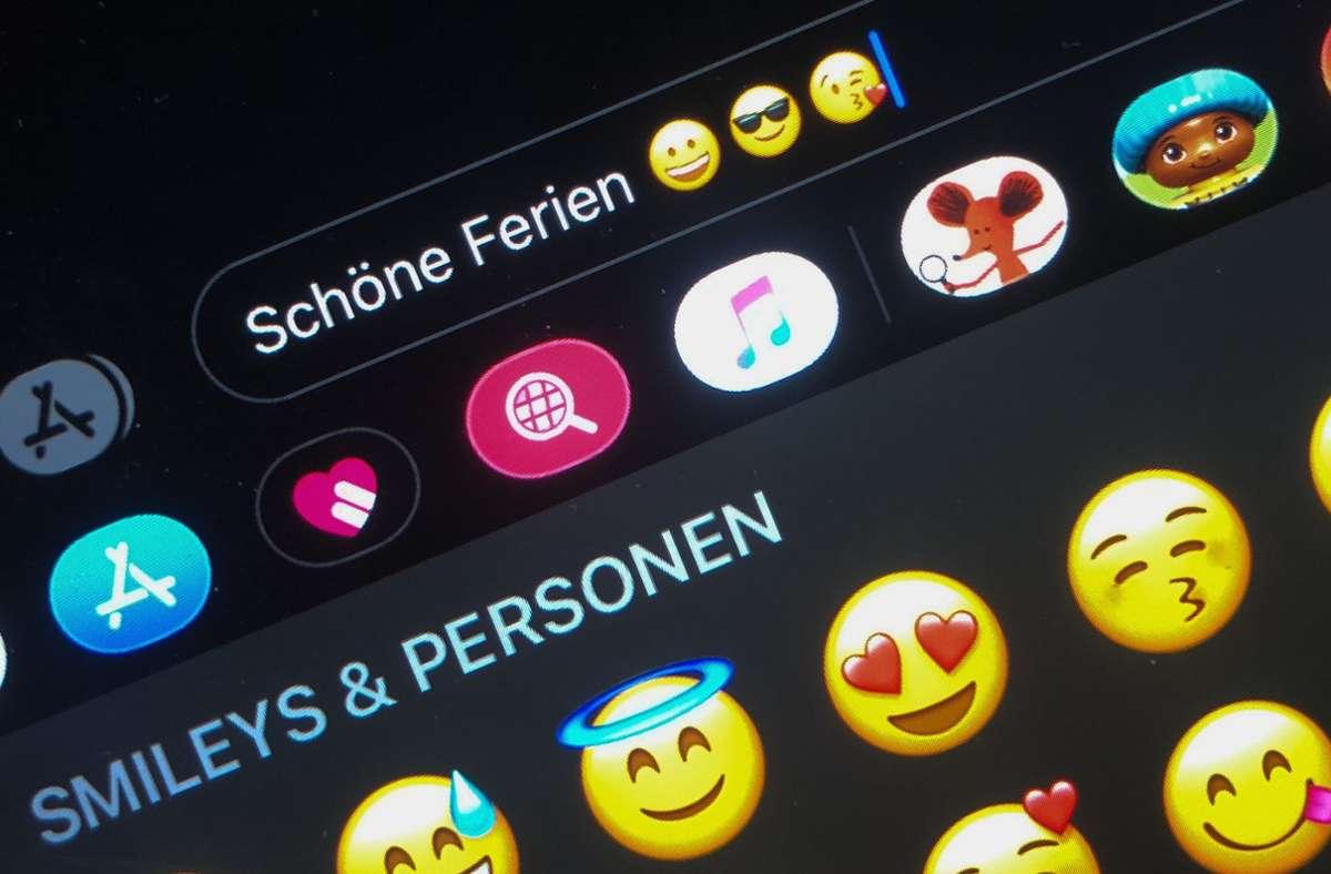Mittlerweile gibt es viele Emojis für das Smartphone – bald sollen nun einige neue dazu kommen. Foto: dpa/Jörg Carstensen