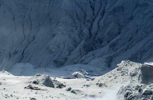 Auch vier Deutsche während Vulkanausbruchs auf Insel