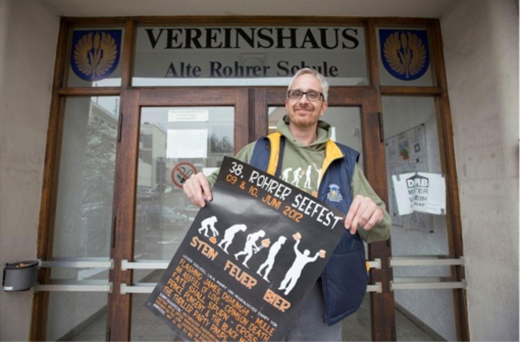 Gerne antiautoritär: Daniel Wittinger schwört auf das Konzept Selbstverwaltung. Foto: Michael Steinert