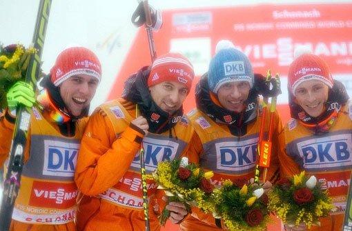 Heim-Weltcup in Schonach gewonnen