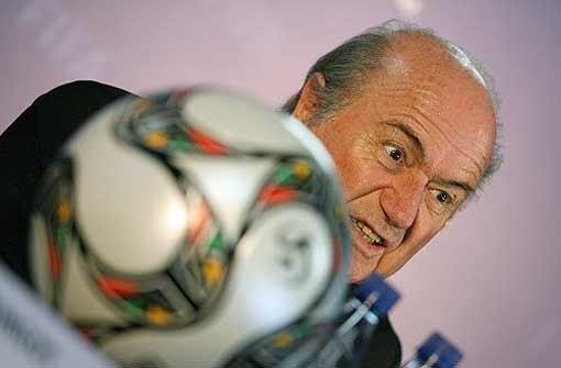 Blatter ist ein kleiner Quälgeist