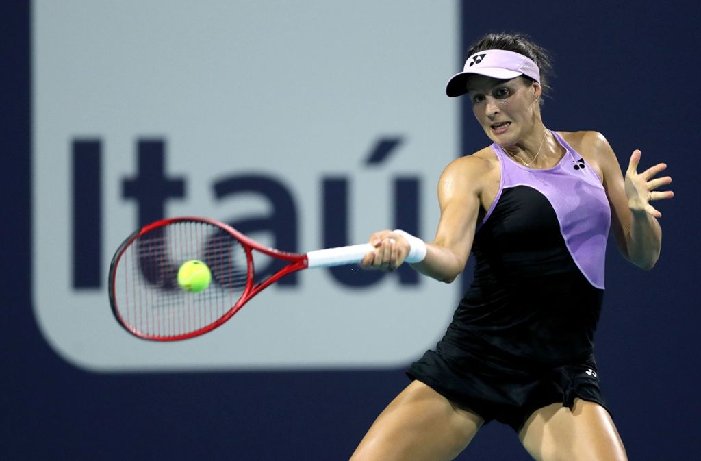 Tatjana Maria ist in Miami ausgeschieden. Foto: GETTY IMAGES NORTH AMERICA