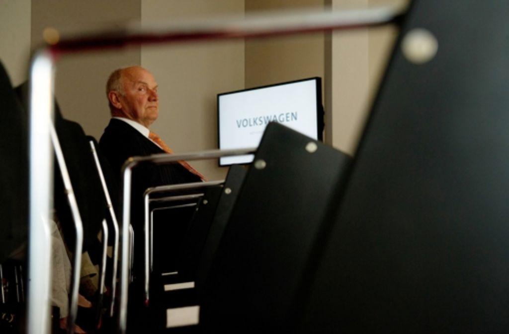 Der Rücktritt des VW-Aufsichtsratsvorsitzenden Ferdinand Piech war unausweichlich. Foto: dpa