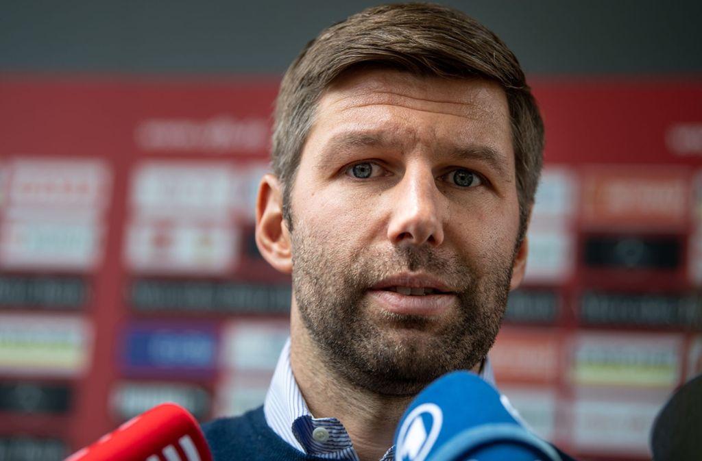 Thomas Hitzlsperger ist neuer Vorstandsvorsitzender des  VfB Stuttgart. Foto: Fabian Sommer/dpa/Fabian Sommer