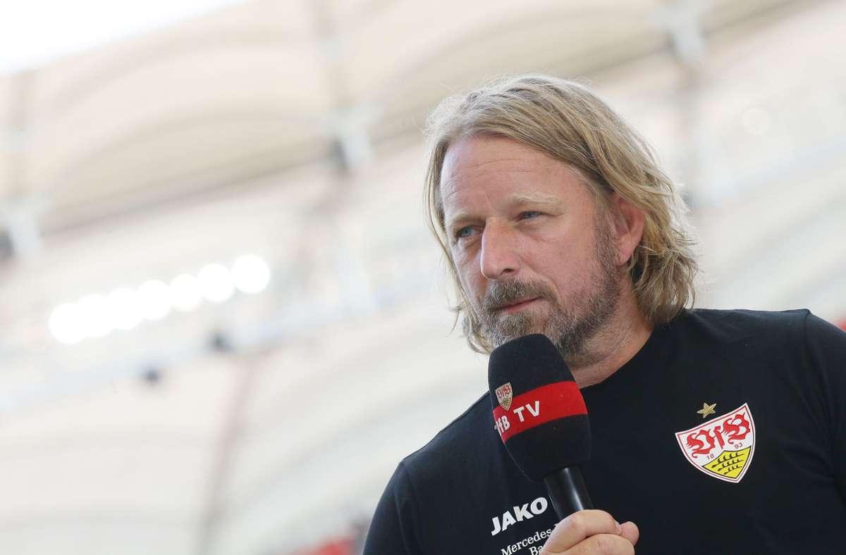 Sportdirektor Sven Mislintat will auf dem Transfermarkt ruhig bleiben. Foto: Pressefoto Baumann/Hansjürgen Britsch
