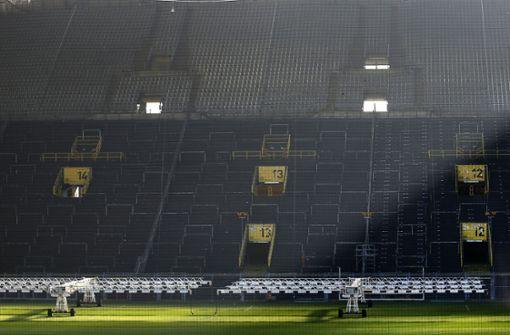 Auch Partie Dortmund gegen Schalke ohne Publikum