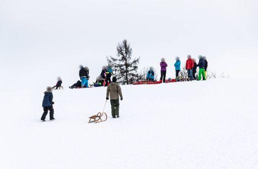Erneut zahlreiche Winterausflügler auf der Schwäbischen Alb