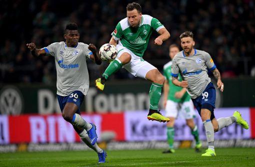 Schalke verliert gegen Werder und rutscht tiefer in die Krise