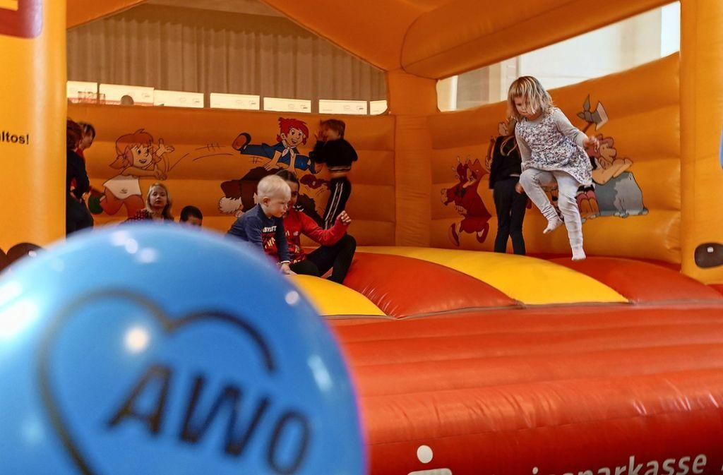 Beim Familienfest zum großen Jubiläum haben vor allem die Kinder großen Spaß. Foto: factum/Bach