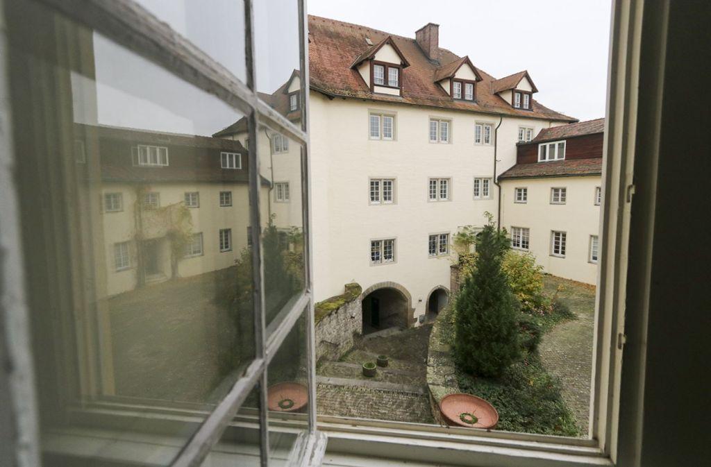 Eine Sicht, wie man sie nur selten bekommt: der Innenhof des Schlosses Kaltenstein. Foto: factum/Granville