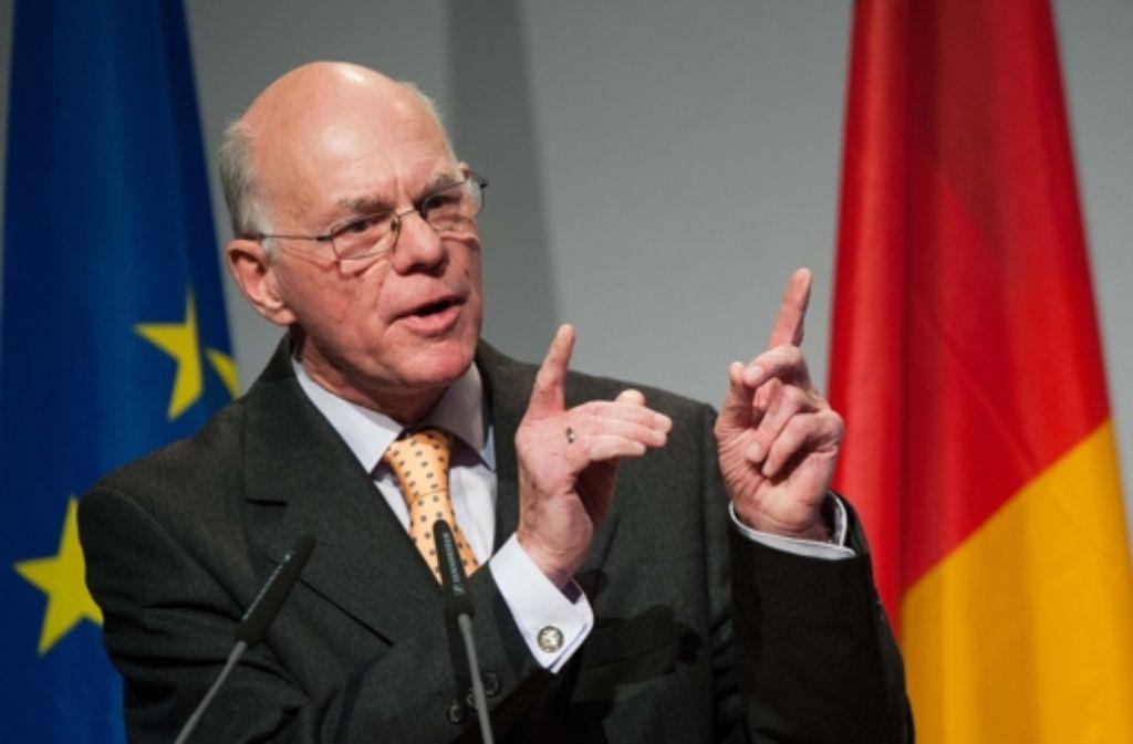Bundestagspräsident Norbert Lammert ist unzufrieden mit ARD und ZDF. Foto: dpa