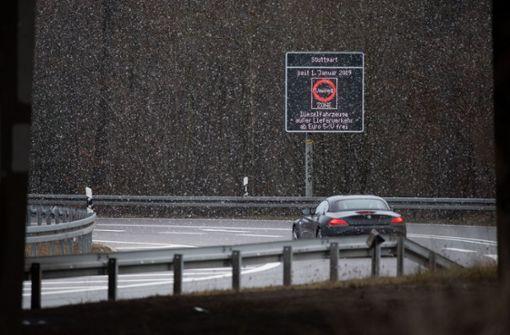 Stadt und Land informieren über Fahrverbot