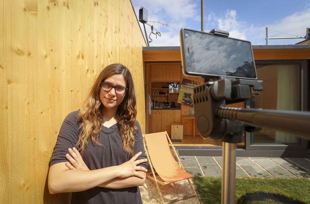 Jasmin Sessler hat einen Film über das Mikrohofhaus gemacht. Foto: factum/Granville