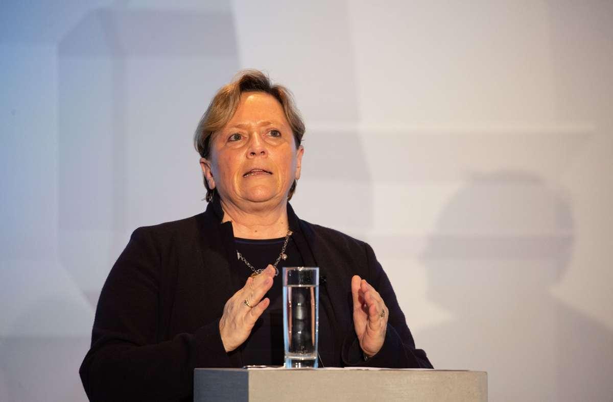 Baden-Württembergs Kultusministerin Susanne Eisenmann (CDU). (Archivbild) Foto: LICHTGUT/Leif Piechowski