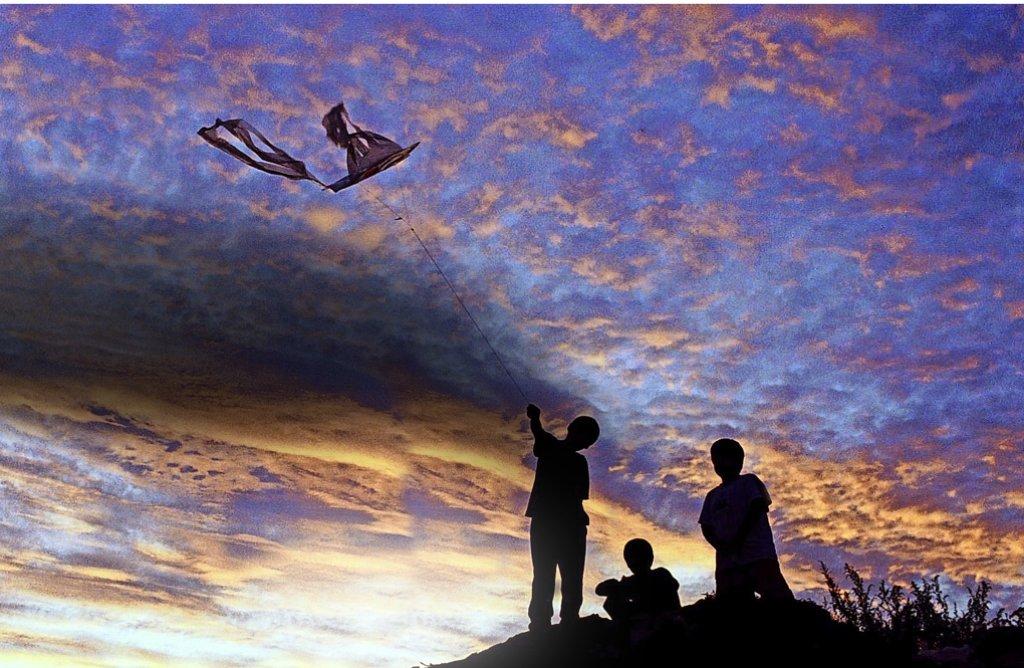 Nach dem Prinzip des Drachensteigens funktionieren auch Höhenwindräder. Foto: Pisarenko