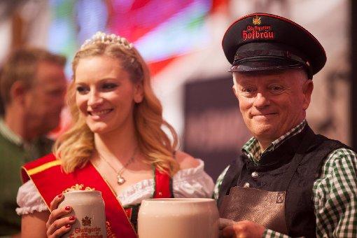 Das 75. Stuttgarter Frühlingsfest ist eröffnet