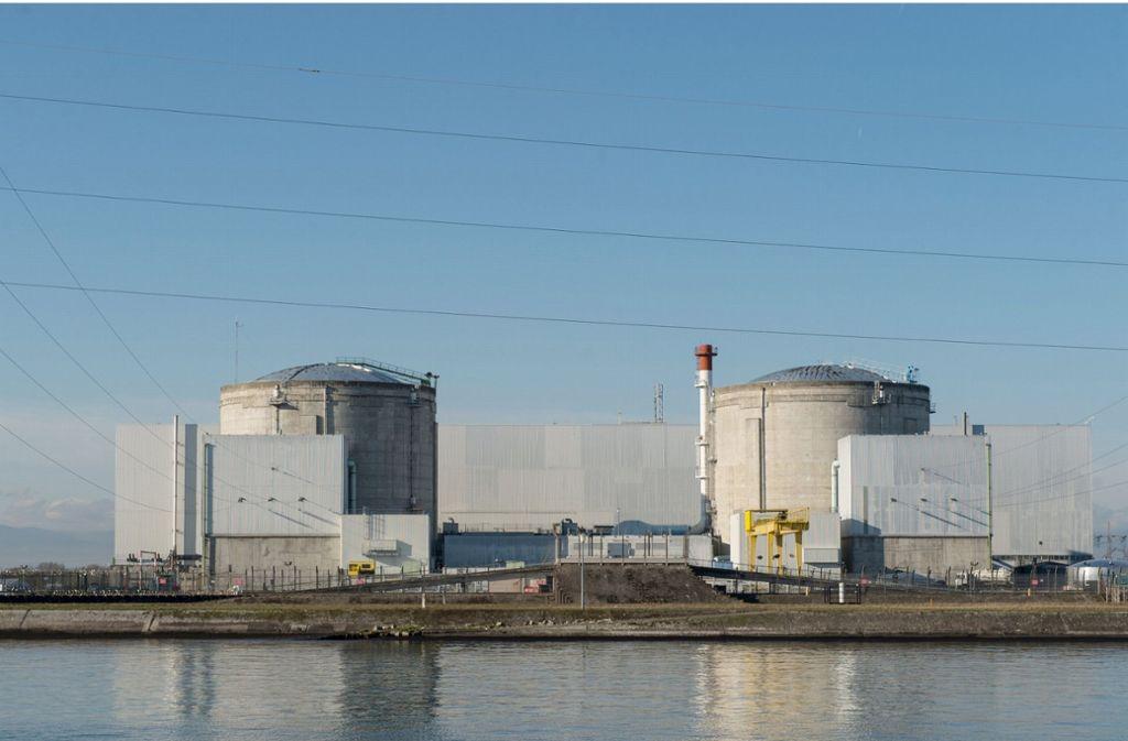 Das Atomkraftwerk in Fessenheim gilt als umstritten. Es ist das älteste noch laufende Kraftwerk in Frankreich. Foto: dpa
