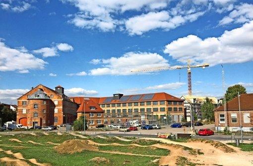 Eine neue Mitte für den Neckarpark