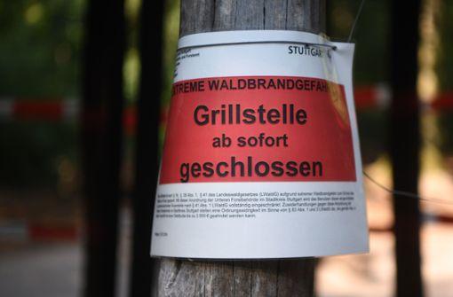Vorsicht beim Grillen in Waldnähe