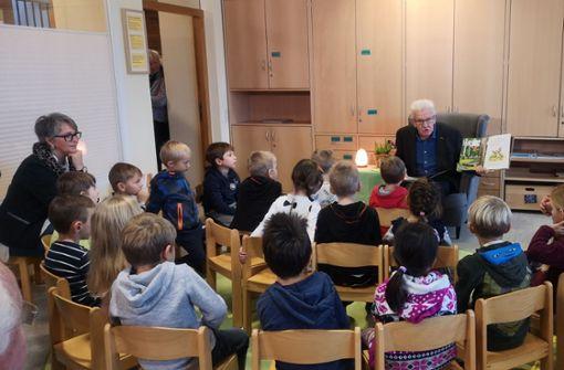 So reagieren Kita-Kinder auf Winfried Kretschmann