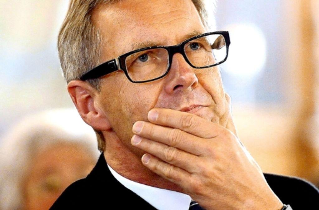 Christian Wulff war 568 Tage Bundespräsident. Foto: dpa