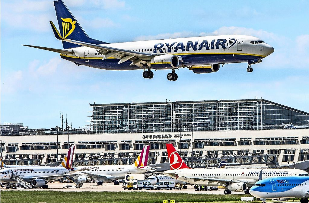 Ryanair würde gerne das eigene Engagement in Stuttgart ausdehnen. Foto: Flughafen Stuttgart