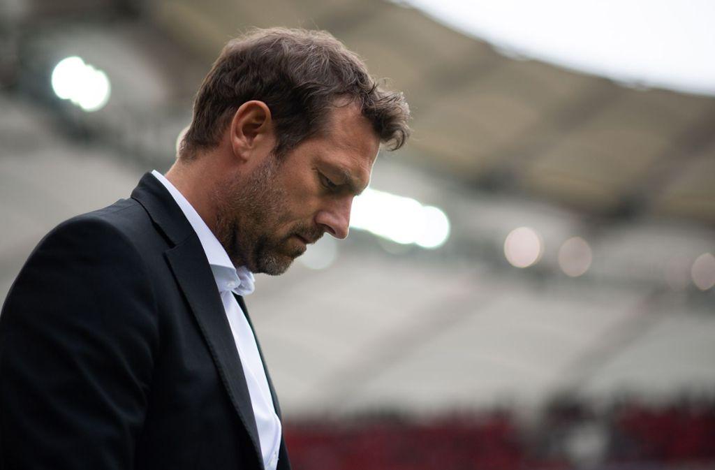Das Kapitel Markus Weinzierl und VfB Stuttgart ist Geschichte. Foto: Getty