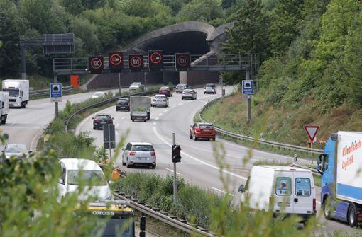 Sperrung im Kappelbergtunnel und in Cannstatt