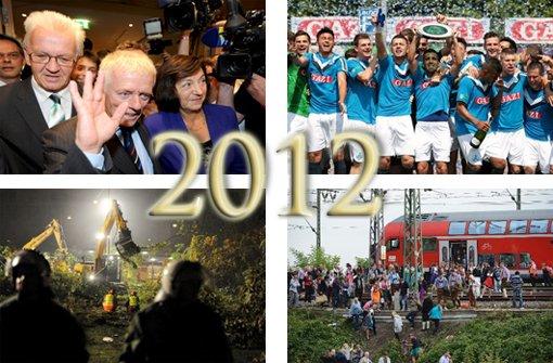 Das war das Jahr 2012 in Stuttgart und Region